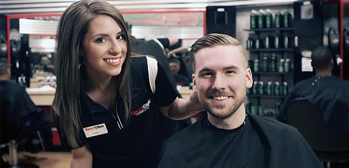 Sport Clips Haircuts of American Fork​ stylist hair cut